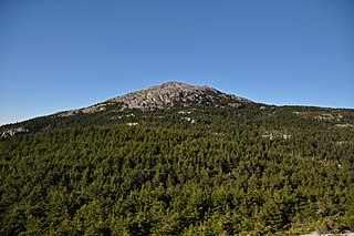 Mount Monadnock Mountain in New Hampshire, USA
