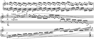 Cadenza - Image: Mozart 6 Variations on an aria from I Filosofi Immaginarii K. 398 (416e), first movement, cadenza written out