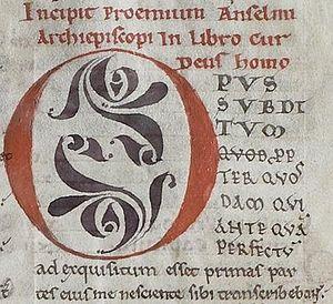 Cur Deus Homo - Image: Ms 224 anselm