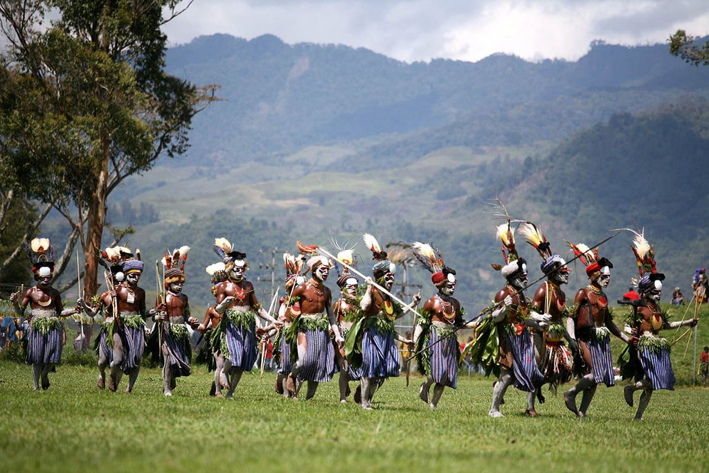 Mt Hagen Cultural Show, one of the largest annual cultural events in Papua New Guinea