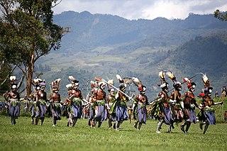 Mount Hagen Town in Western Highlands Province, Papua New Guinea