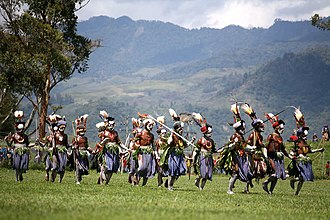 Mount Hagen - Mt Hagen Cultural Show, one of the largest annual cultural events in Papua New Guinea