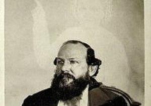 William H. Mumler - Robert Bonner, supposedly with the spirit of his wife, Ella Bonner. William H. Mumler, 1872.