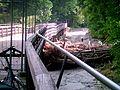 Munich Isar Flauchersteg after flood.JPG