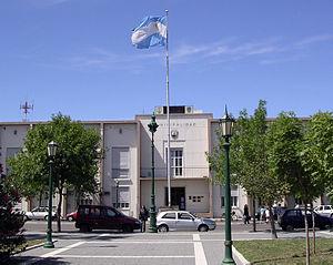Santa Rosa, La Pampa - Image: Municipal Building Santa Rosa Argentina