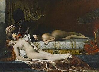 Fernand Cormon - Image: Murder in the Seraglio by Fernand Cormon (1874)