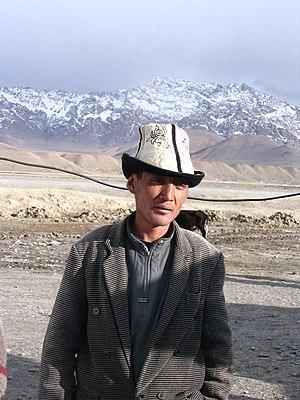 Kyrgyz people - A Kyrgyz around Murghab, in the Pamirs of Tajikistan.