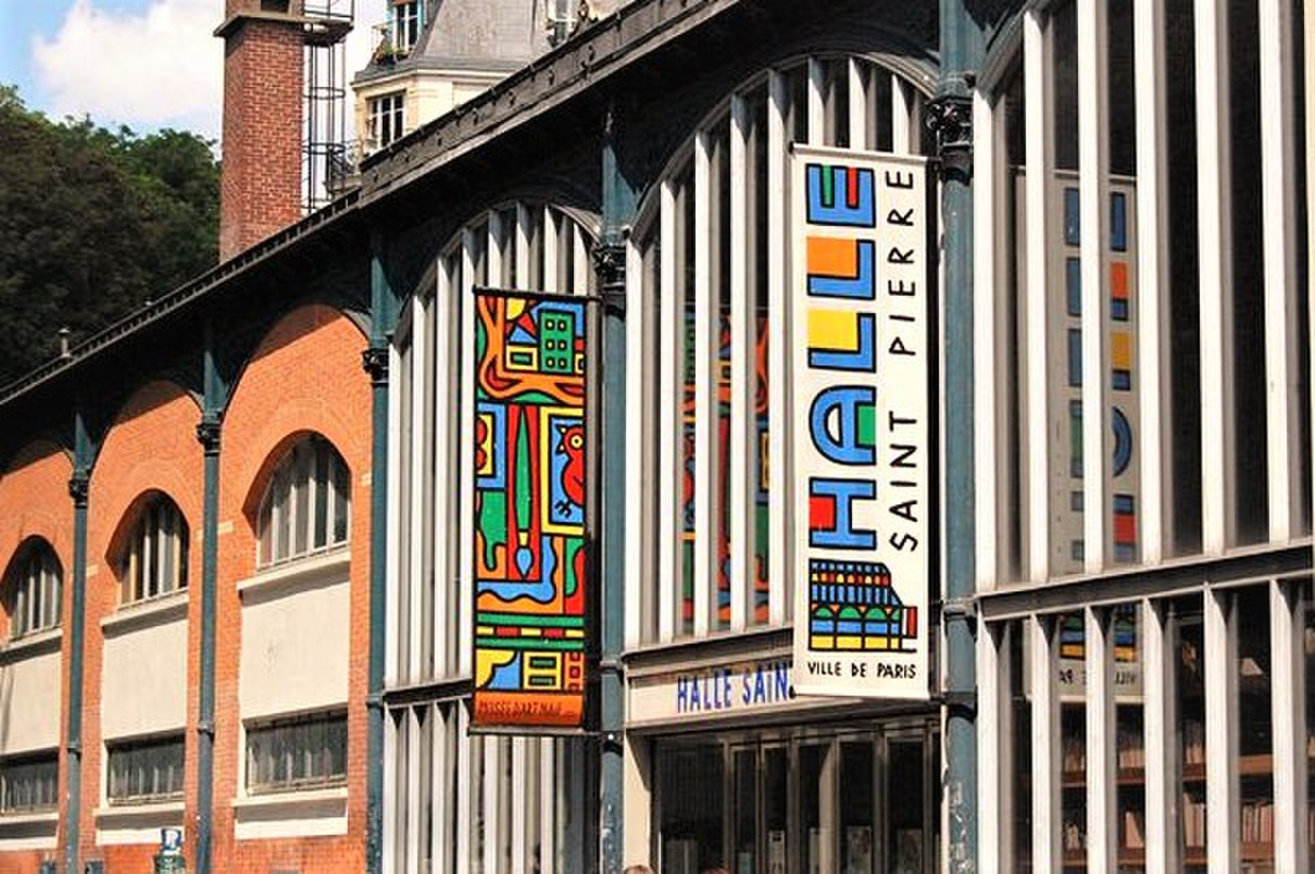 Halle saint pierre wikip dia - Musee art decoratif paris horaires ...