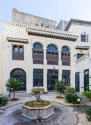 American Legation, Tangier - Courtyard of the Legation