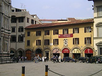 Museo dell'Opera del Duomo (Florence) - The museum, seen from the Piazza del Duomo