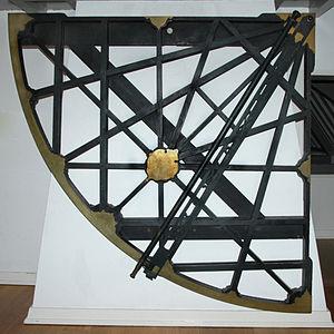 Willebrord Snellius - Quadrant of Snellius Image: Museum Boerhaave, Leiden