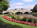 Musselburgh Esk flower beds.jpg