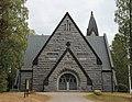 Muuruveden kirkko - pääoven suunnalta (lännestä) - Kuistilankuja 2 - Muuruvesi - Kuopio - 2.jpg