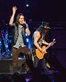 Myles Kennedy and Slash Brixton 2012-10-12.jpg