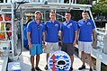 NASA NEEMO 22 Aquanaut Crew prior to the start of the mission at Key Largo.jpg