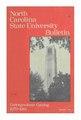 NC State University Bulletin, Undergraduate Catalog, 1979-1981.pdf