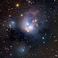 NGC7129 Nebula from the Mount Lemmon SkyCenter Schulman Telescope courtesy Adam Block.jpg
