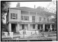 NORTH SIDE SHOWING REAR - W.M. Broun House, 320 Avalon Street, Spring Hill, Mobile County, AL HABS ALA,49-SPRIHI,5-2.tif