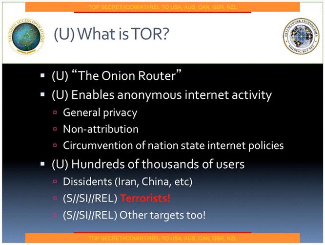 NSA TOR1