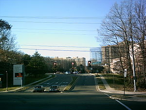 Northern Virginia Community College - Entrance to the Alexandria campus.