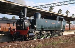 0-6-4 - Preserved NZASM 46 Tonner no. 230 Jan Wintervogel