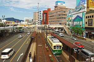 Nagasaki Station (Nagasaki) - Nagasaki-Ekimae tram stop