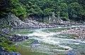 Nakdong River (southeast of the Dongjeom railway station, Gangwon Province, South Korea) (20039344681).jpg