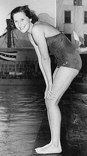 Nancy Merki American swimmer