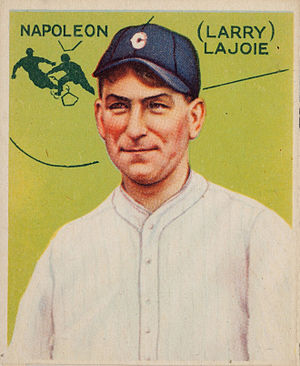 Goudey - Nap Lajoie Goudey card, one of the rarest baseball cards.