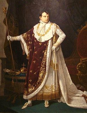 Napoleon I in coronation costume
