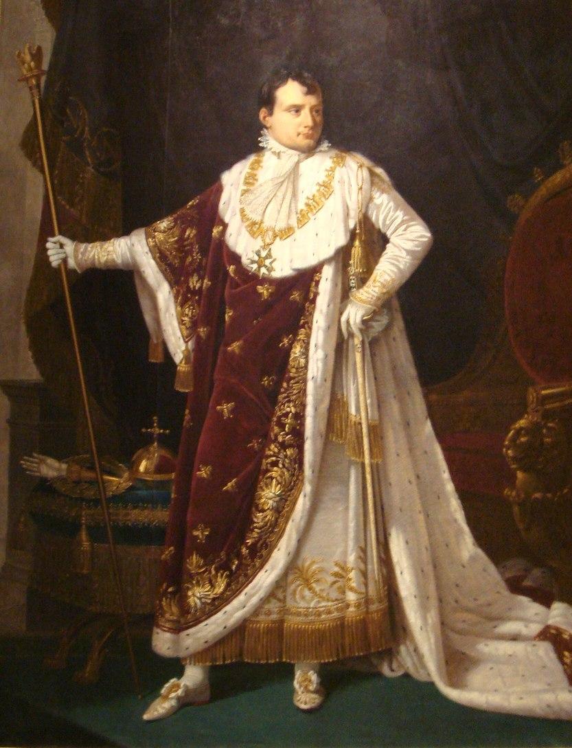 Napoleon I in coronation costume by Robert Lefebvre 1807