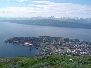 Narvik von oben