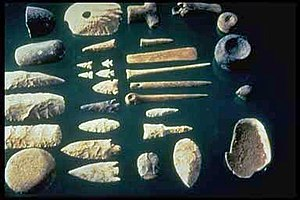 Stone tool - A selection of prehistoric stone tools.