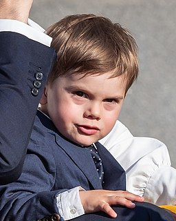 Prince Oscar, Duke of Skåne Duke of Scania