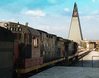 Ferrocarriles Nacionales de México State railway company of Mexico