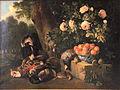 Nature morte au gibier et a la coupe de porcelaine Francois Desporte circa 1700 1710.jpg