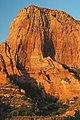Navajo Sandstone (Lower Jurassic), Paria Point near sunset, Kolob Canyons, Zion National Park, sw Utah 6 (8423916449).jpg