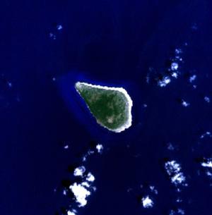 Navassa Island - NASA NLT Landsat 7 (Visible Color) Satellite Image