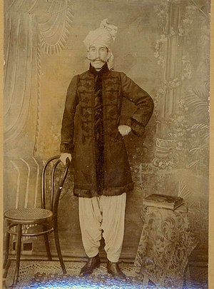 English: Nawabzada Mohammad Ismail Khan son of...