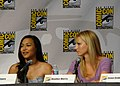 Naya Rivera & Heather Morris (4852307445).jpg