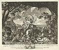 Neptunus en Thetis Aqua terris major, omnium nutrix, piscium conchiliorumque pretiosa mater (titel op object), RP-P-1904-244.jpg