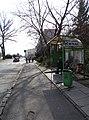 Neratovice, Kojetická, zastávka Kojetická, přístřešek (01).jpg