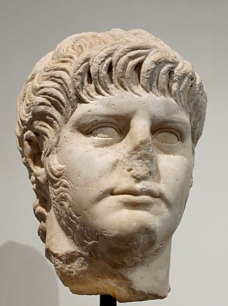 History of poison - A bust of the Roman Emperor Nero, who used cyanide to dispose of unwanted family members