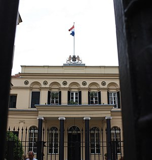 Fossati brothers - Consulate (former embassy) of the Netherlands on Istiklal Avenue in Istanbul