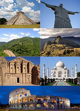 De Zeven Wereldwonderen.New7wonders Of The World Wikipedia