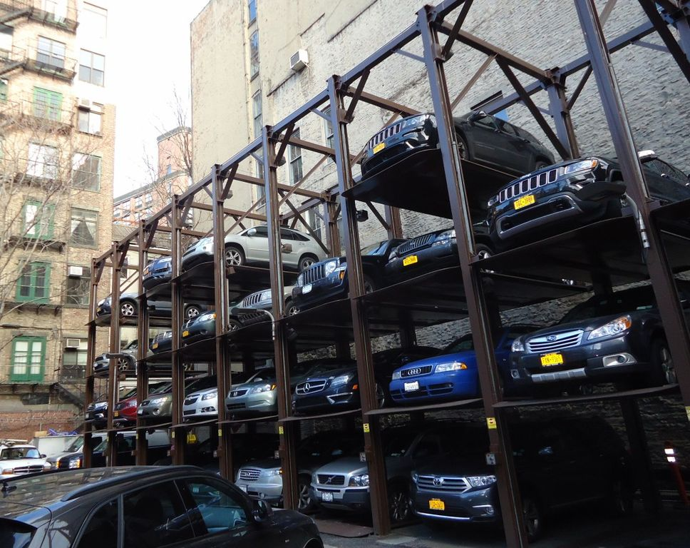 File new york city parking lot structure for cars jpg for Parking garage in nyc