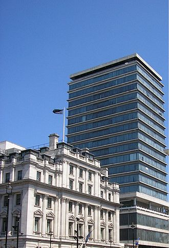Carlton Hotel, London - The New Zealand High Commission, built on the former site of the Carlton