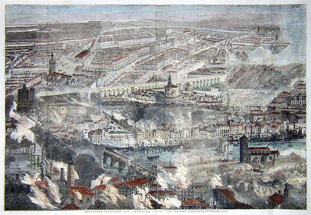 השריפה הגדולה בניוקאסל וגייטהד - הפודקאסט עושים היסטוריה