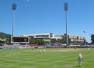 Cricket in South Africa - Newlands Cricket Ground in Cape Town