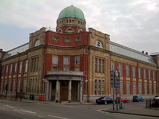 Newport Technical Institute grade II listed building in the United kingdom